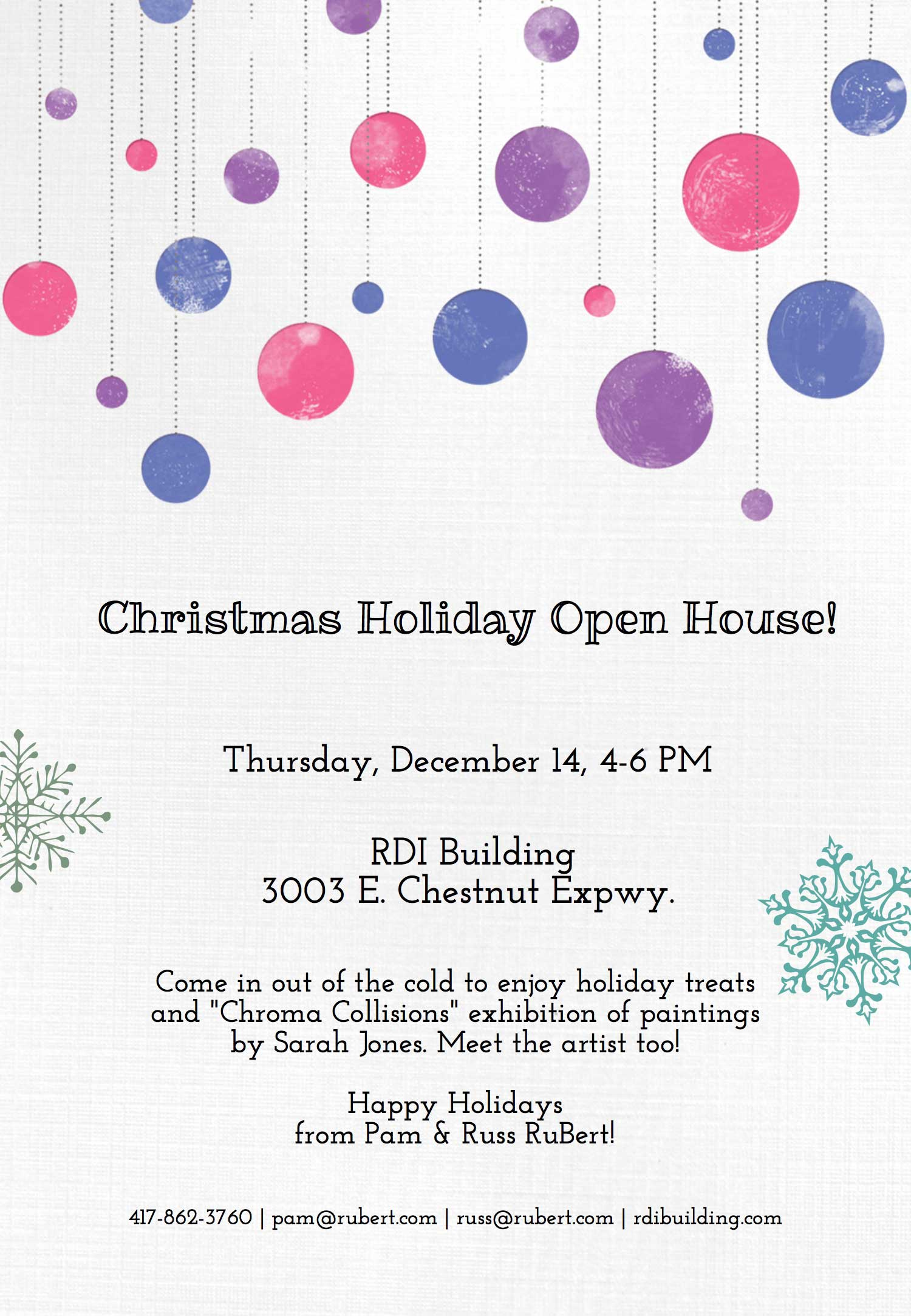 Christmas Holiday Open House